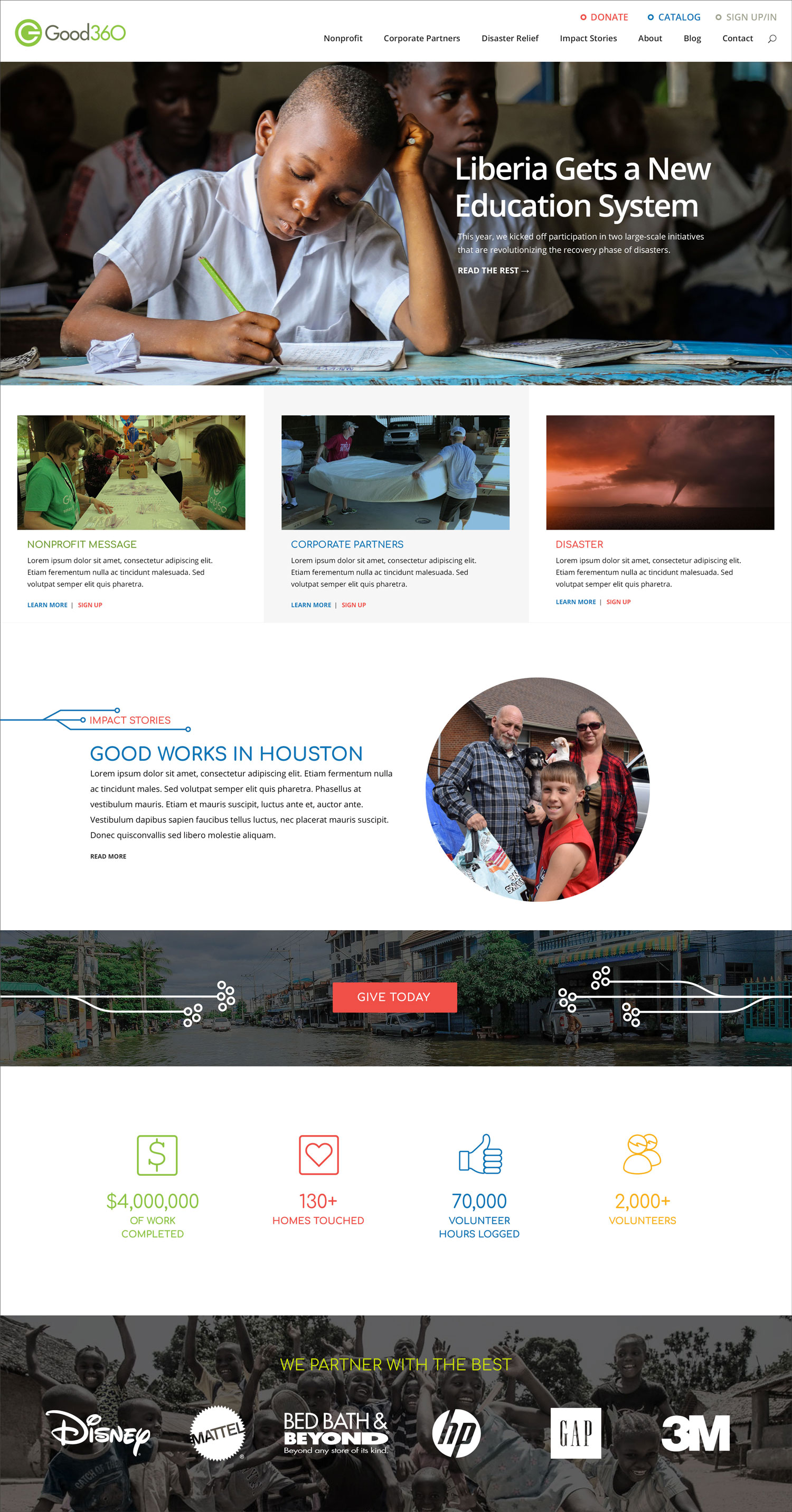 Non-profit Website | IanPK – Creative Direction & Development